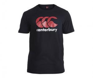 T-shirt Canterbury Logo, Noir