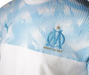 OM Casuals Kid's T-shirt White/Blue