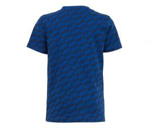 T-shirt France All Over Bleu Junior
