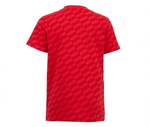 T-shirt France All Over Rouge Junior