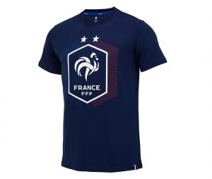 T-shirt France Big Logo Bleu Junior