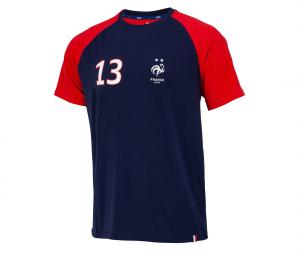 T-shirt France Kante 13 Bleu/Rouge Junior