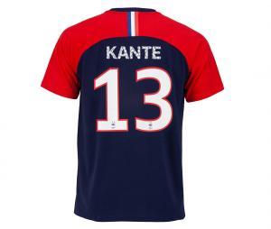 T-shirt France Kante 13 Bleu/Rouge Junior