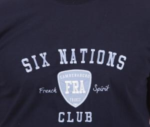 T-shirt Camberabero France Authentic Bleu