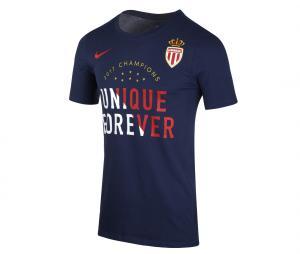 T-shirt AS Monaco Champions Bleu