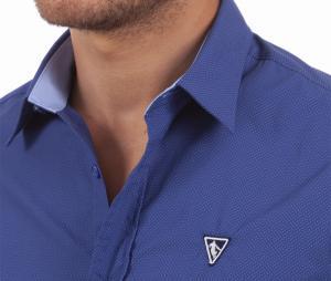 Chemise Camberabero France Authentic Bleu
