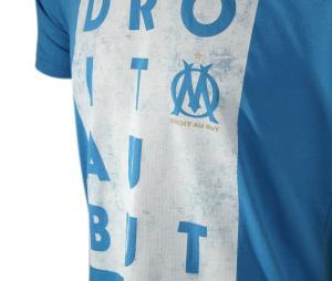 Camiseta OM Droit au But Azul