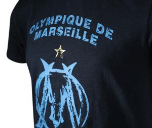 Camiseta OM Azul Júnior