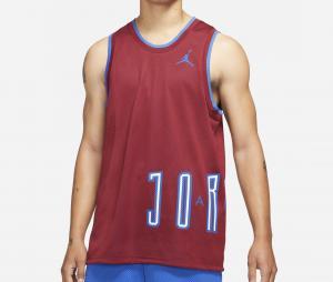 Débardeur Réversible Jordan Sport DNA Rouge/Bleu