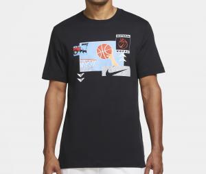 T-shirt Nike Basketball Noir