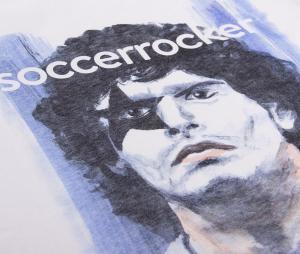 T-shirt SoccerRocker x COPA Argentine Blanc