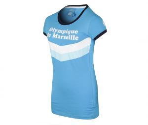 T-shirt OM Bleu Femme