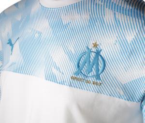 OM Casuals Men's Tee-shirt White/Blue