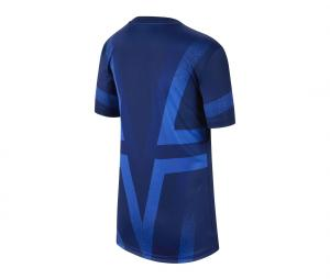 Maillot Pré-Match PSG Bleu Junior