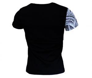 T-shirt Religion Rugby Bras Maori Joe Rokocoko Noir