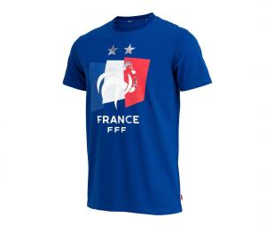 T-shirt France Drapeau Bleu Junior