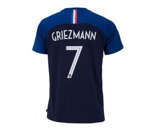 T-shirt France Griezmann N°7 2 étoiles Bleu Junior