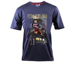 T-shirt Barcelone Neymar Bleu Junior