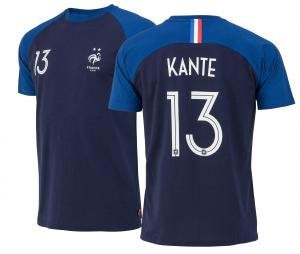 T-shirt France Kante N°13 Bleu Junior 2 etoiles