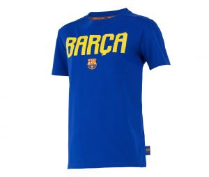 T-shirt Barça Fan Bleu Junior