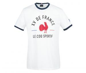 T-shirt FFR France Rugby Blanc