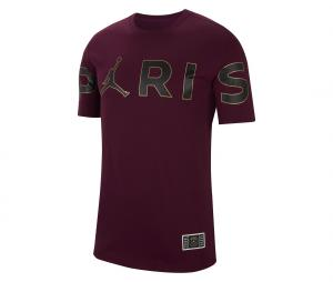 T-shirt Jordan x PSG Wordmark Rouge