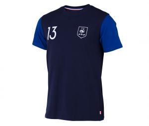 T-shirt France Kante N°13 2 étoiles Bleu