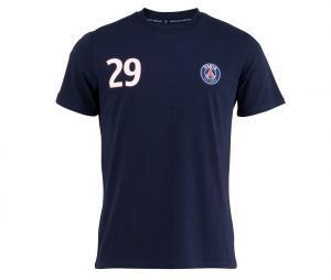 T-shirt PSG MBappé Fan Bleu