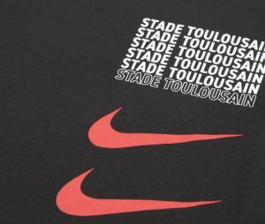 T-shirt Stade Toulousain Graphic Noir Junior