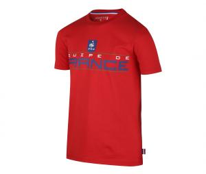 T-shirt Fan France Rouge Junior