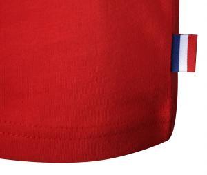 T-shirt Fan France Rouge Junior