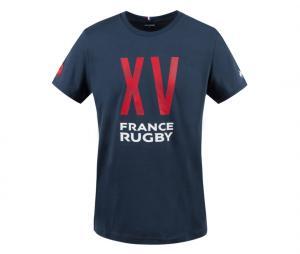 T-shirt France Rugby Bleu