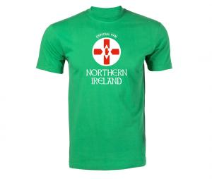 T-shirt Fan Northern Ireland Vert