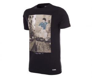 T-shirt Rétro King of Naples Noir