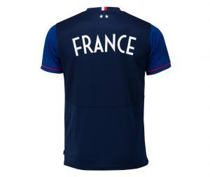 T-shirt France Fan Bleu 2 etoiles