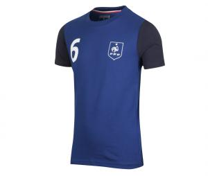 T-shirt France Pogba Bleu Junior