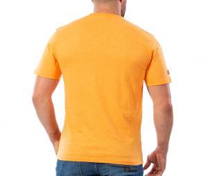 T-shirt Ruckfield Rugby Maori Orange