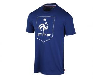 T-shirt Fan Big Logo France Bleu