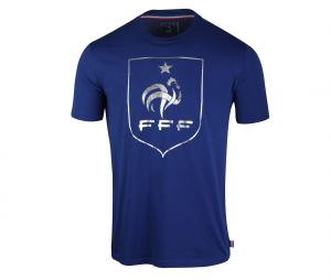 T-shirt Fan Big Logo France Bleu