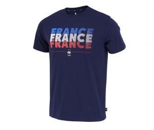 T-shirt France Fan Bleu