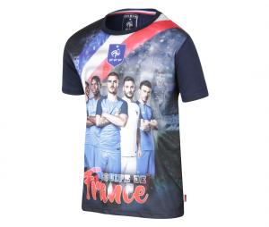 T-shirt France Bleu Junior
