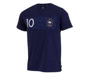 T-shirt Mbappé 10 Player Bleu