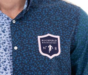 Chemise Manches Longues Ruckfield We are Rugby Bleu