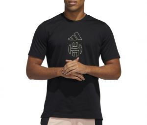T-shirt adidas James Harden Noir