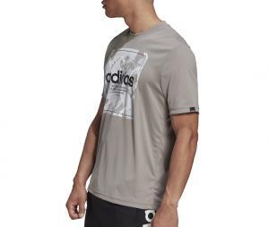 T-shirt adidas Camouflage Box Gris