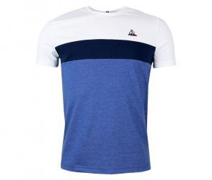 Tee-shirt Tricolore 2 blanc/bleu