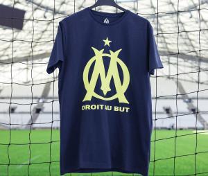 T-shirt OM Bleu