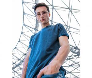 T-shirt OM Droit Au But Bleu