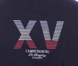 T-shirt Camberabero Héritage Bleu