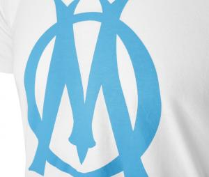 T-shirt OM Logo Fan Blanc
